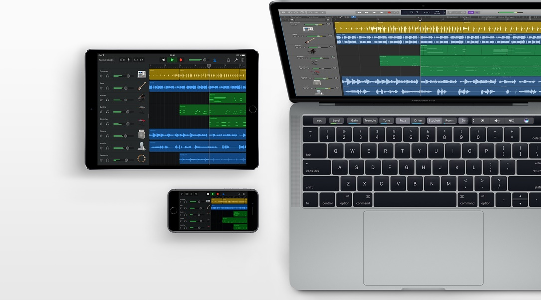 Garageband Apple Header