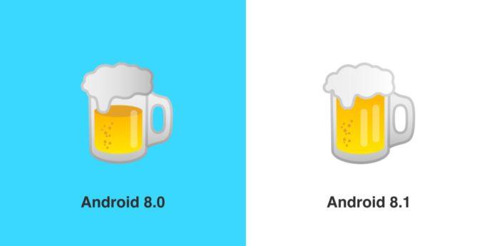 Google Beer Emoji Before After Emojipedia