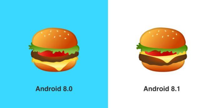 Google Burger Emoji Before After Emojipedia