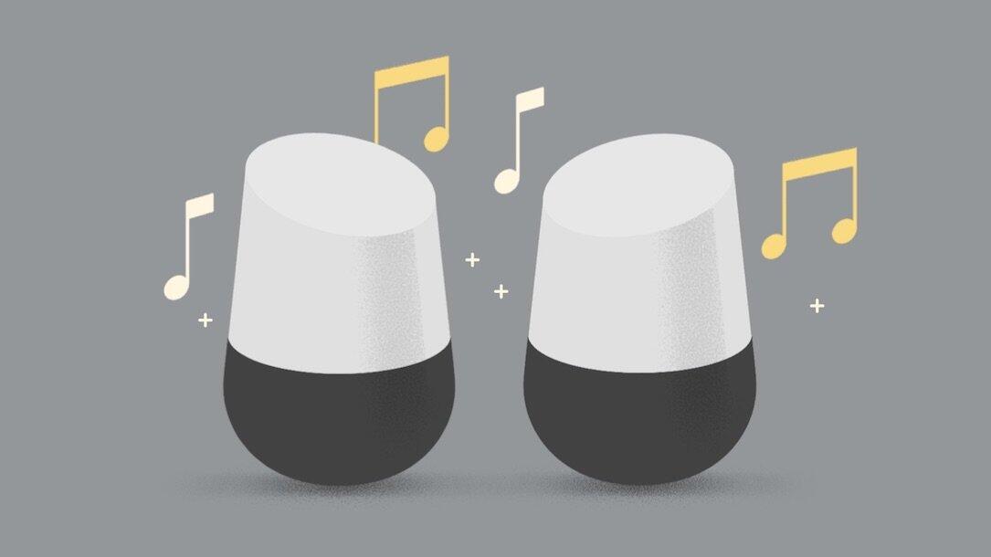 Google Home Stereo