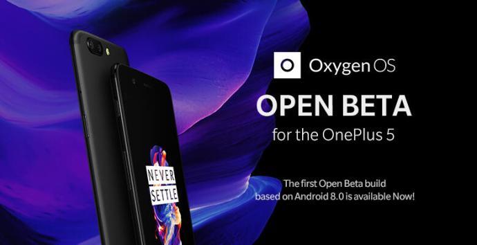 Oneplus 5 Open Beta Oreo