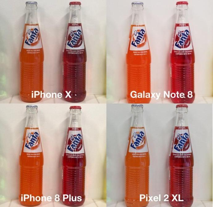 vergleich pixel 2 iphone x