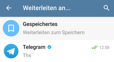 Telegram Nachrichtenarchiv