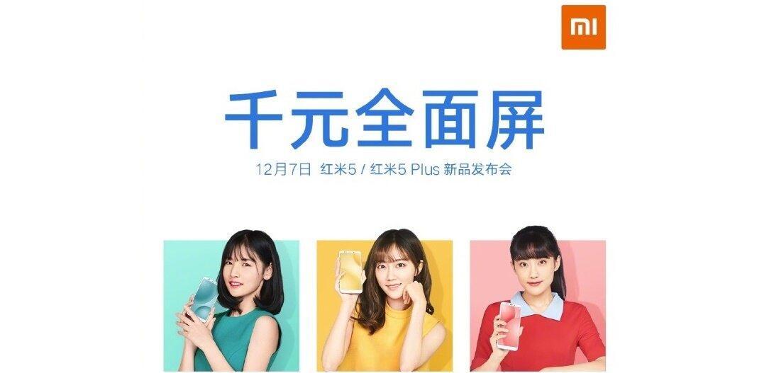 Xiaomi Redmi 5 Invitation