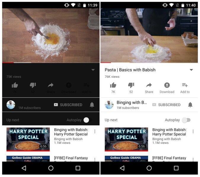 Youtube Dark Watch
