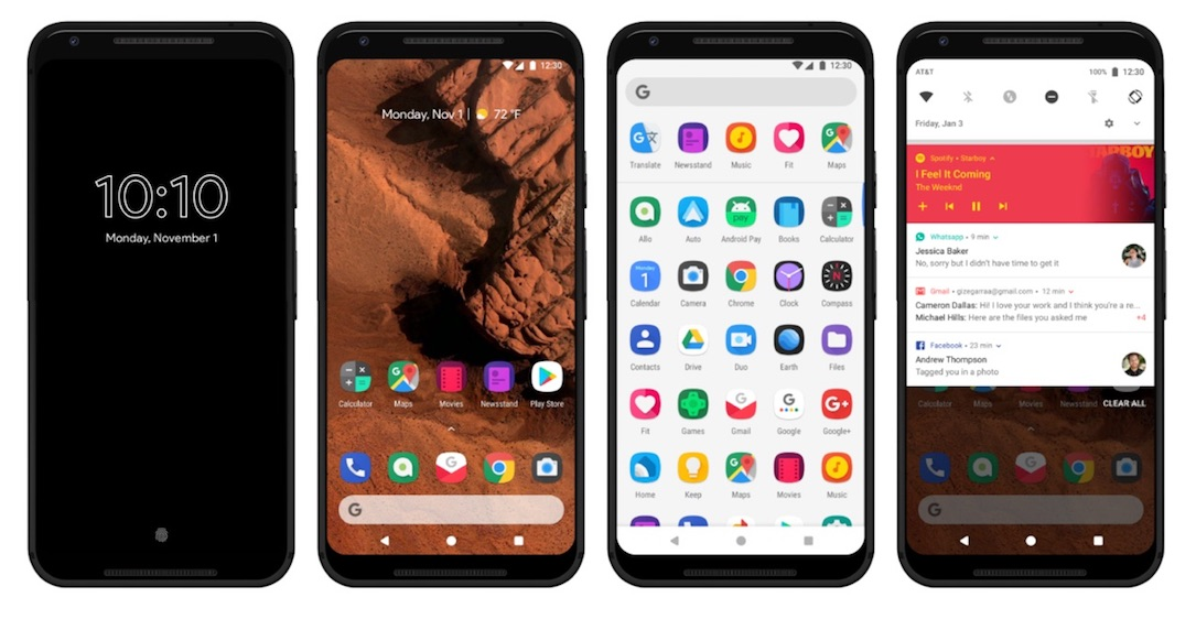 Android Konzept Detail