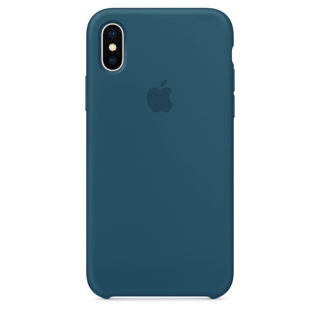 Apple Iphone X Silikon Kosmosblau