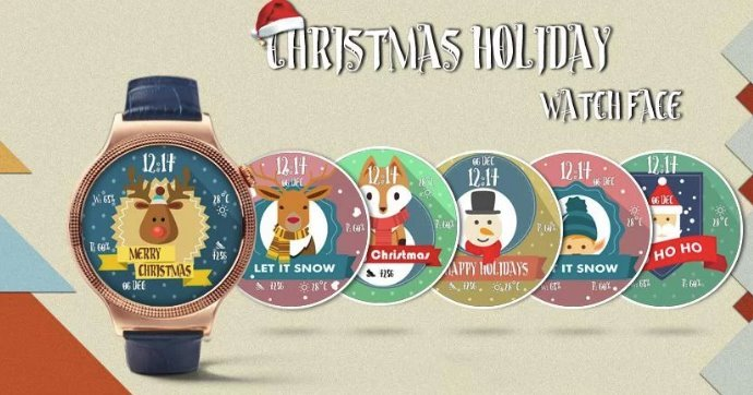 Christmas Holidays Watchface