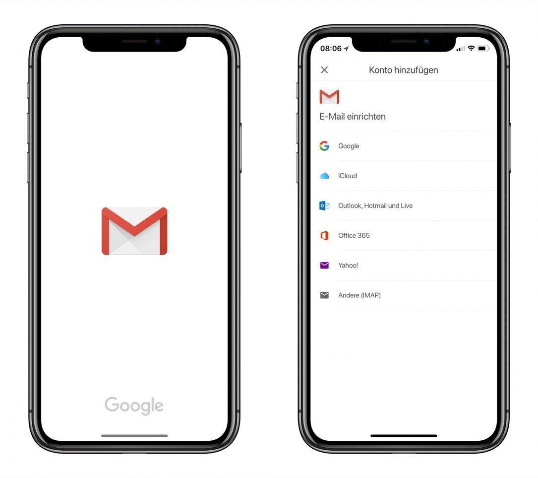 Gmail Ios Iphone X