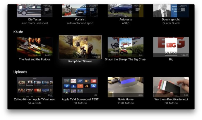 Google Play Filme Apple Tv 1