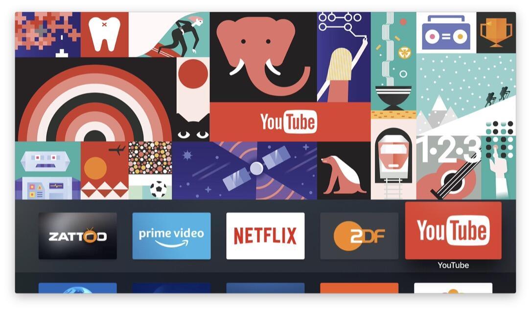 Google Play Filme Apple Tv 2