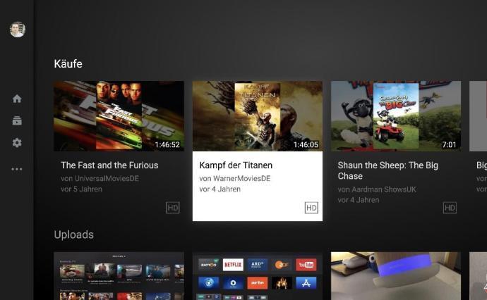 Google Play Filme Youtube Tv