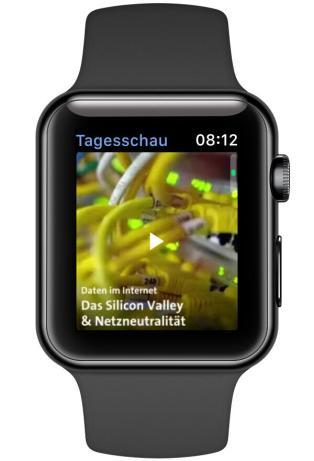 Tagesschau Apple Watch