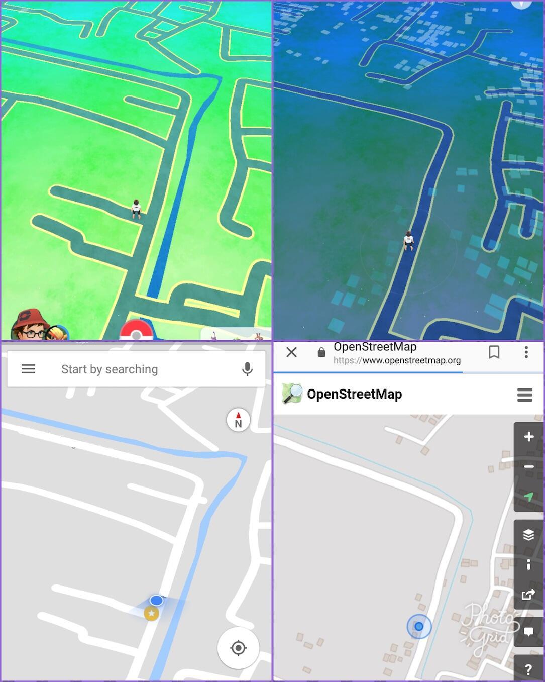 Pokemon Go Openstreetmap