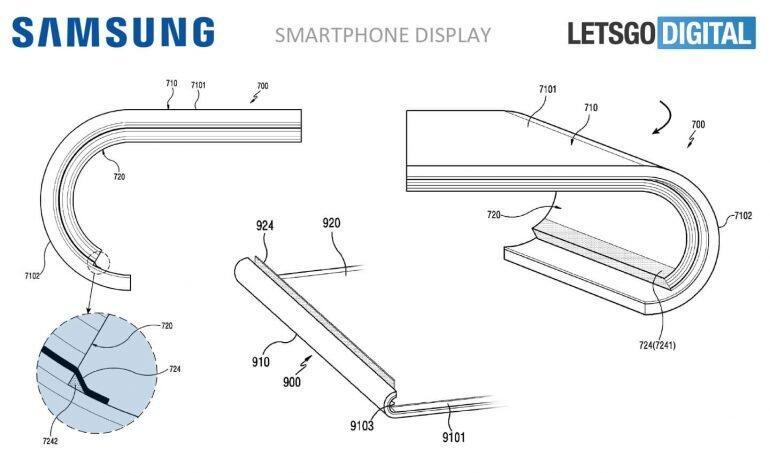 Samsung Patent Display Rund