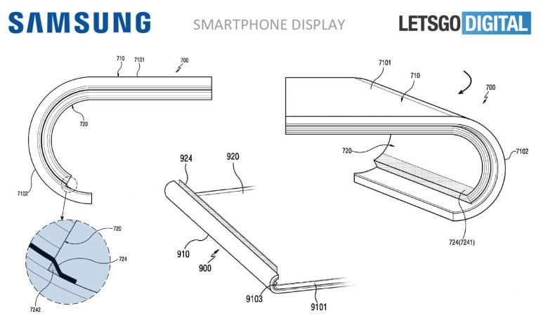 Samsung Patent Display Rund