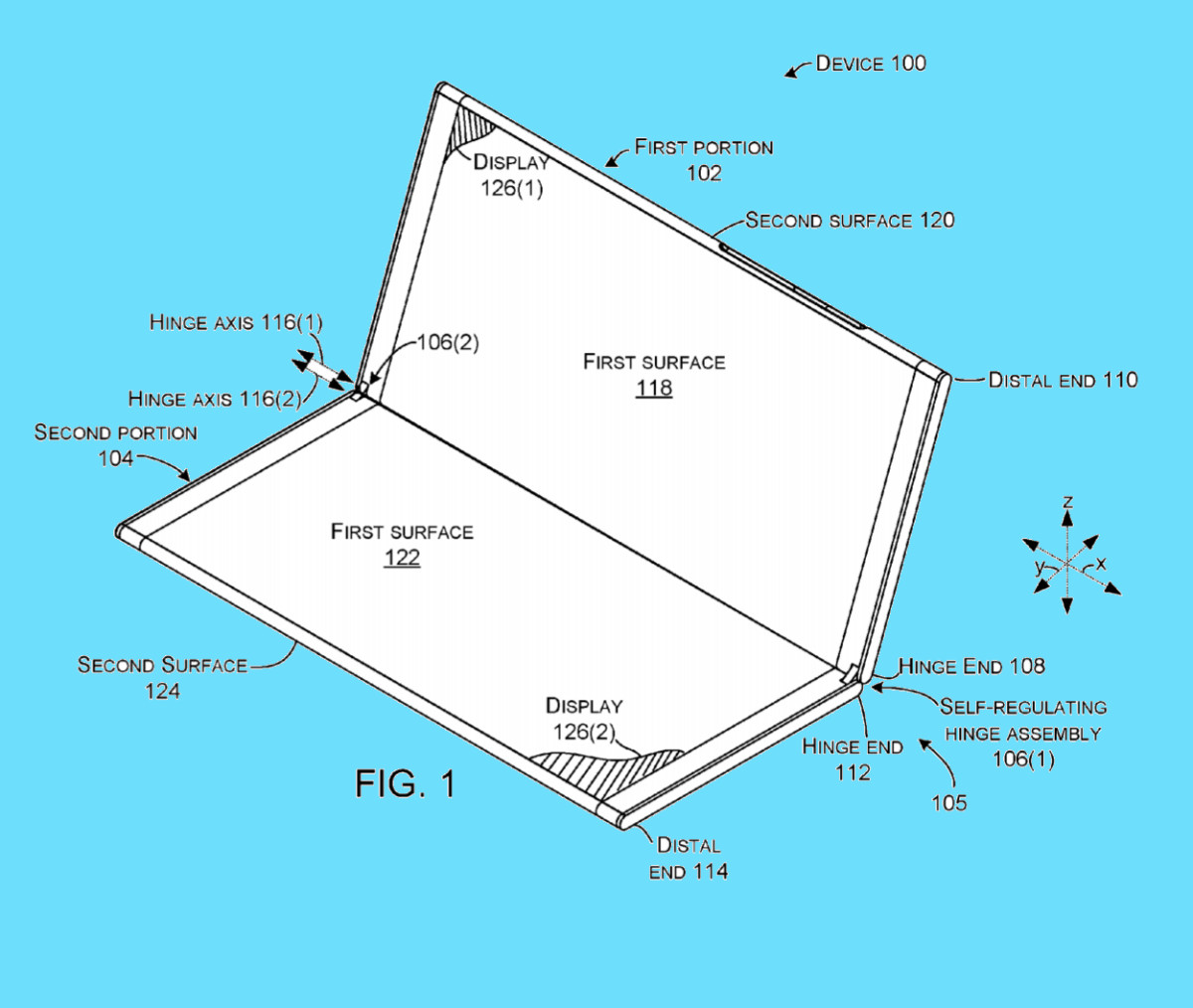 Surface Phone Patent Details