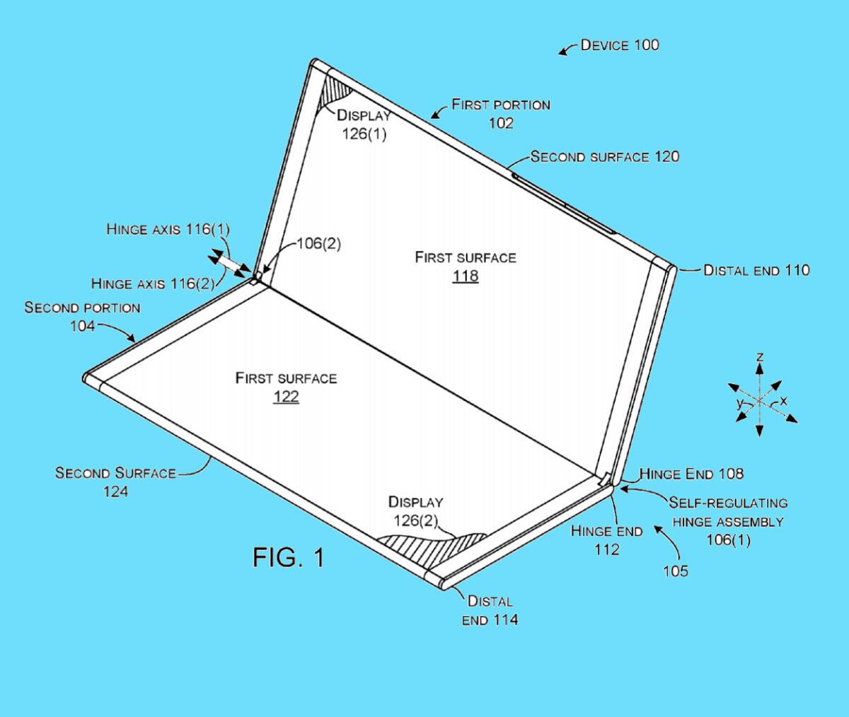 Surface Phone Patent Details