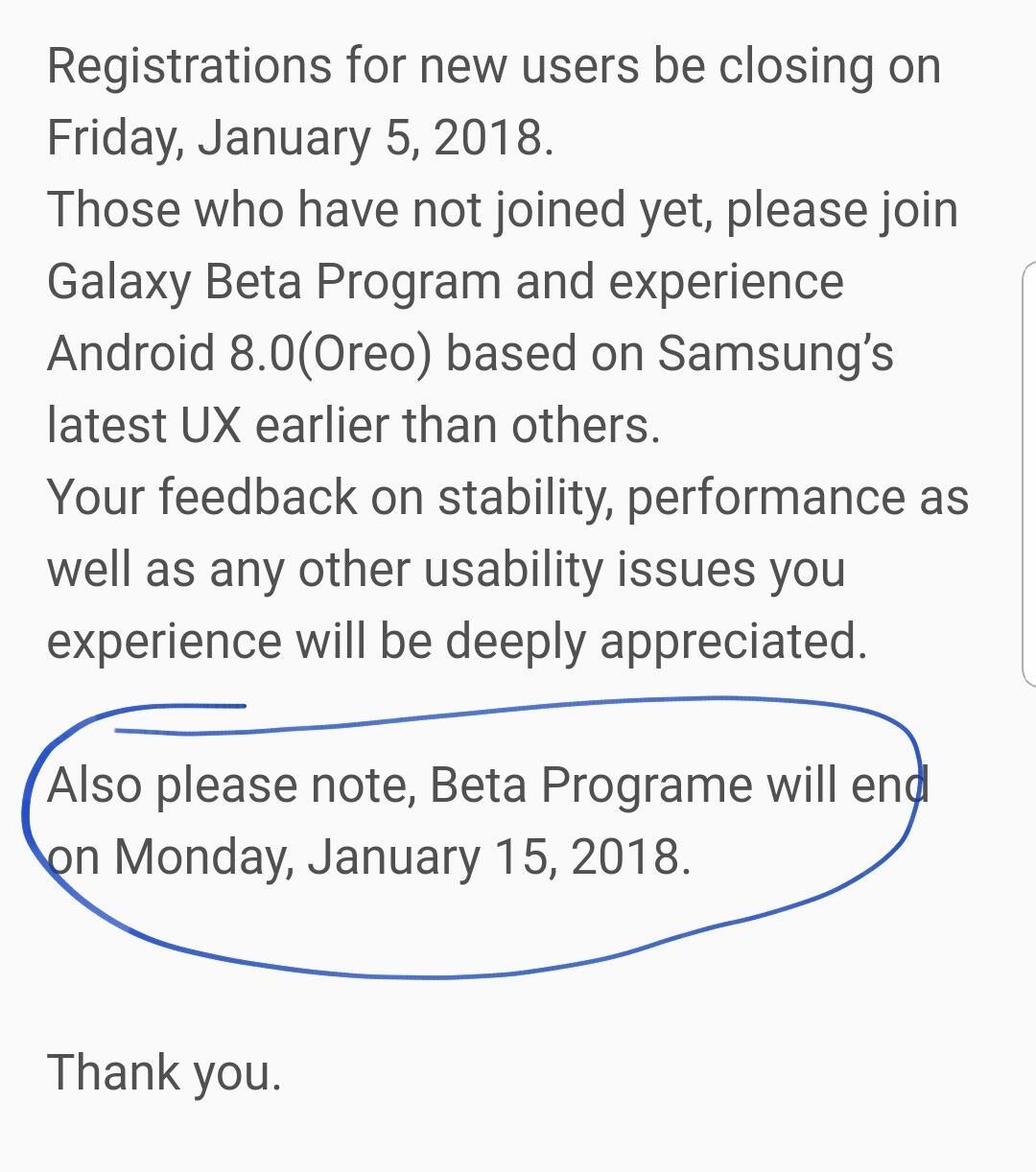 Galaxy S8 Oero Beta