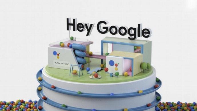 Hey Google Assistant Ces Header