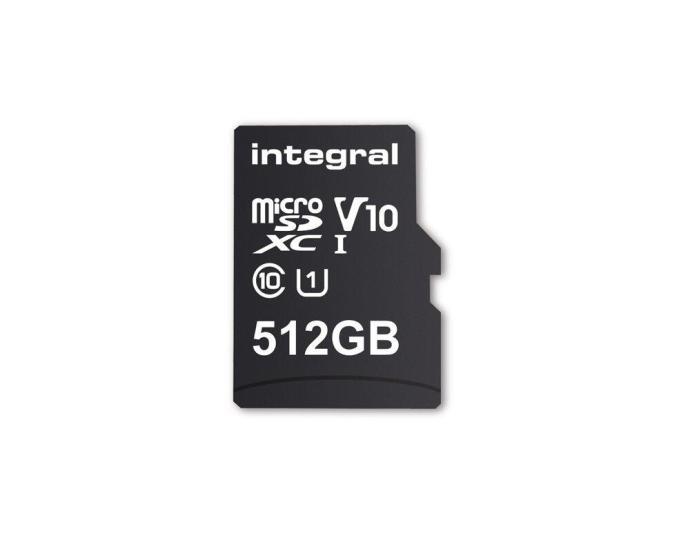 Integral 512 Gb Microsd Header