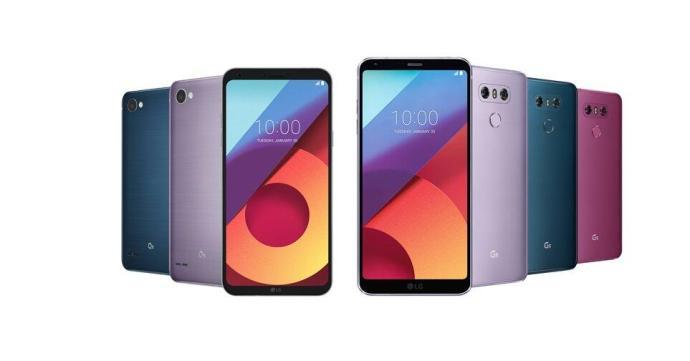 Lg G6 Q6 Farben