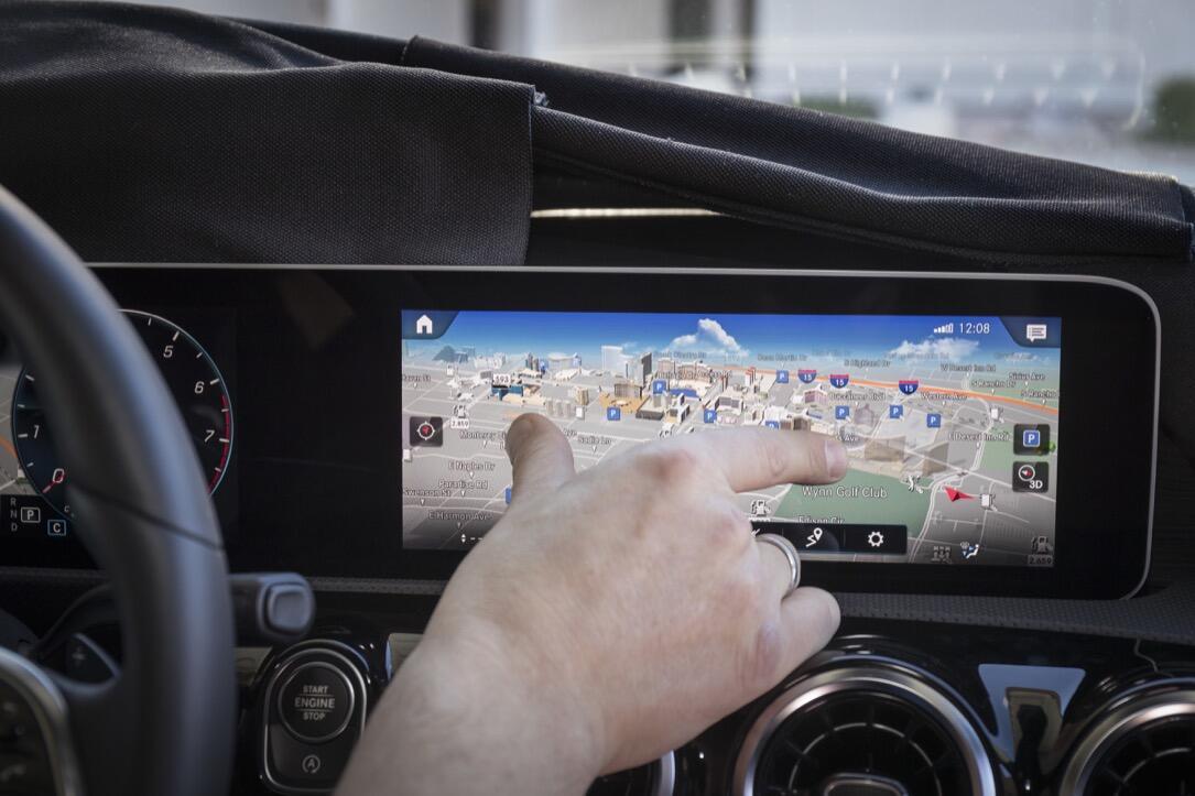Mercedes Benz Auf Der Consumer Electronics Show (ces, 2018) In Las Vegas