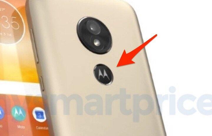 Moto E5 Fingerprint Logo