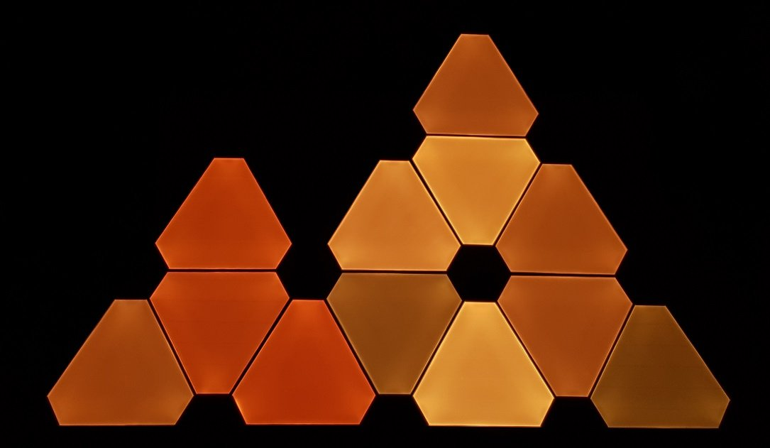 Nanoleaf Aurora Orange