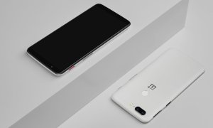 Oneplus 5t Sandstone White Front Back