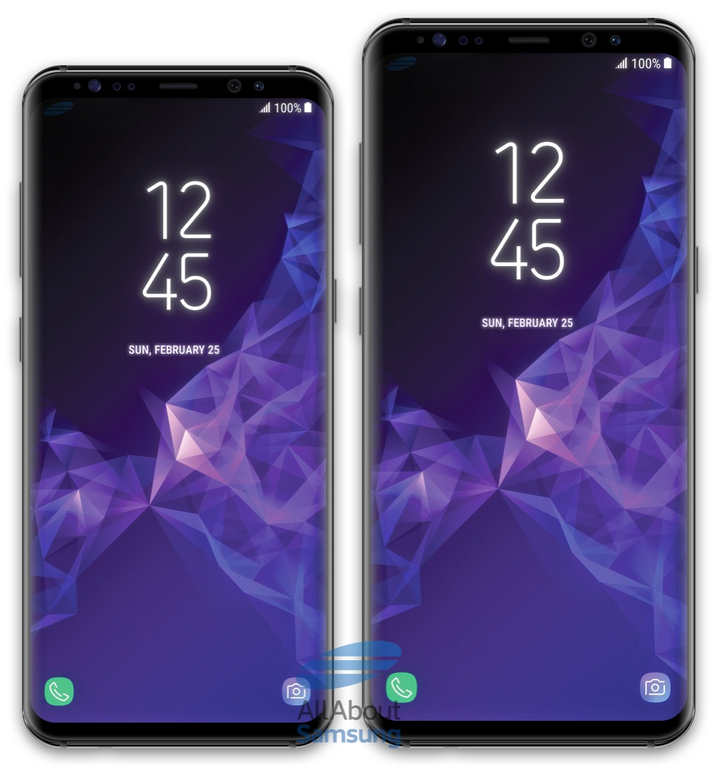 Samsung Galaxy S9 Plus Front