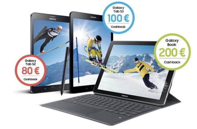 Cashback Samsung Tablets
