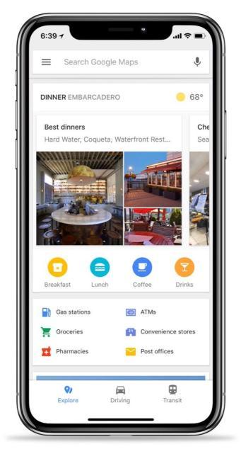 Google Maps Ios Bottom Bar 2