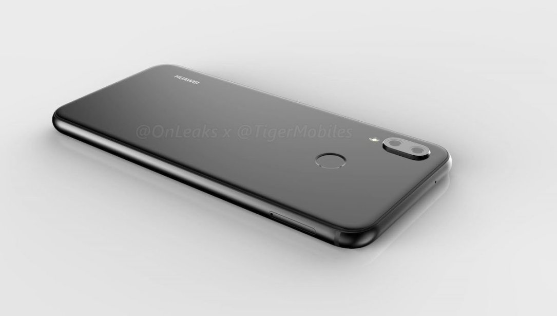 Huawei P20 Lite Leak Render Back