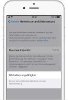 Ios11 Iphone6 Settings Battery Health Normal
