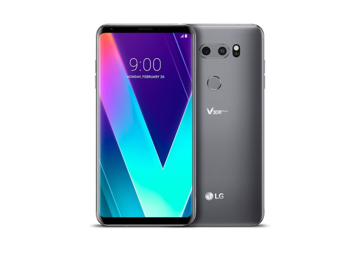 Lg V30s Thinq Header
