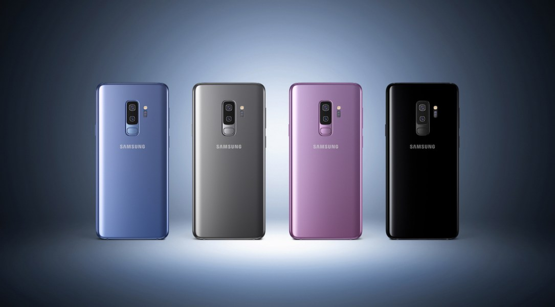 Samsung Galaxy S9 Plus Farben