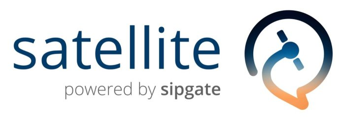 Satellite Logo Type Left Web