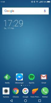 Umidigi S2 Pro Homescreen
