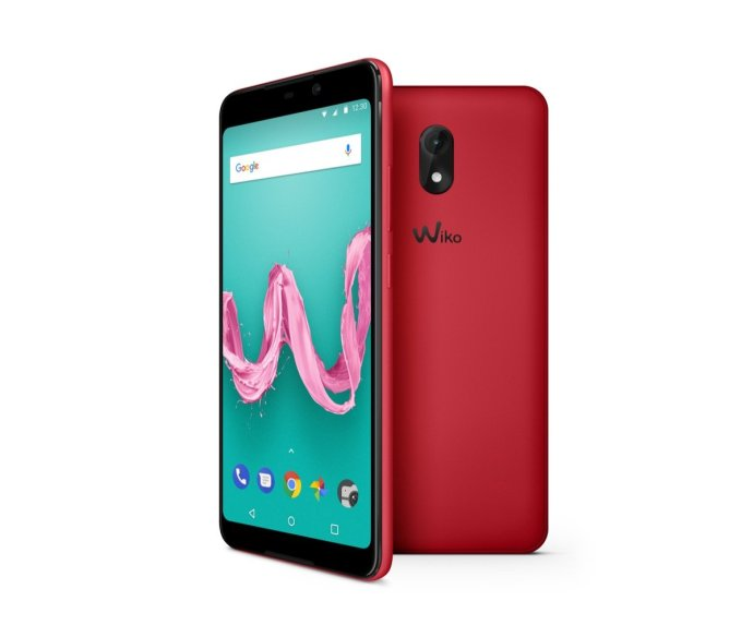 Wiko Lenny5 Cherry Red Compo