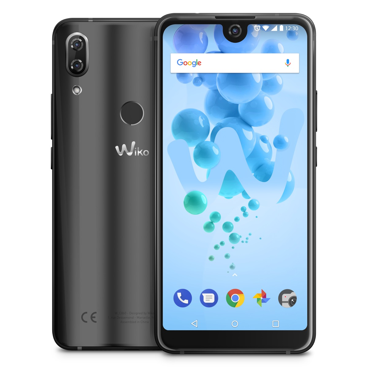 Wiko View 2 Pro Anthracite Compo 01 Display
