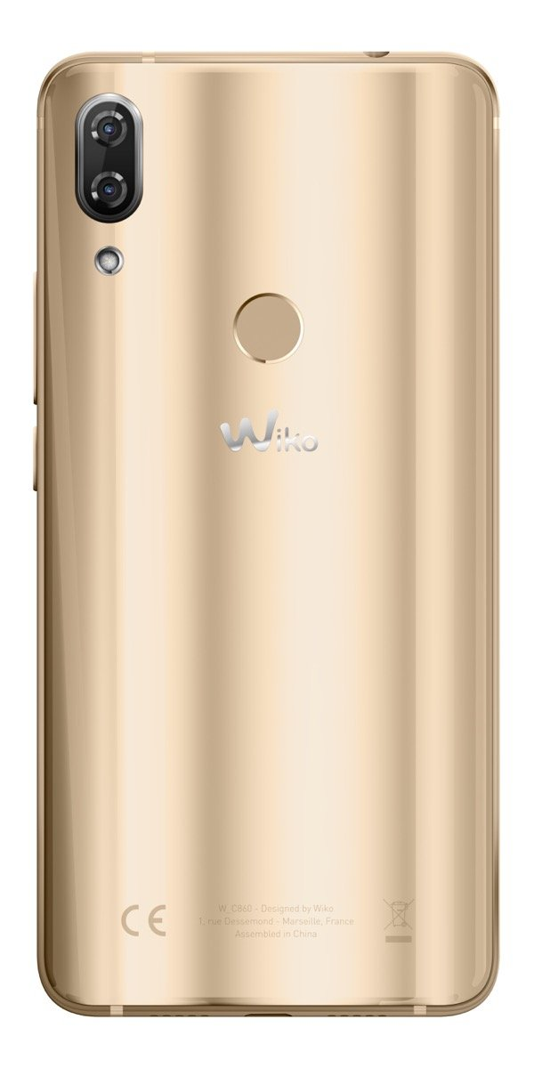 Wiko View 2 Pro Gold Back