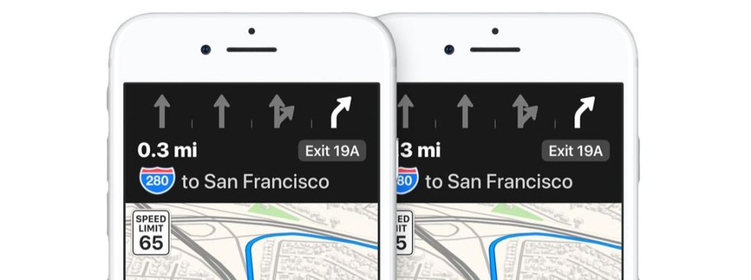 Apple Karten Maps Lane Guide
