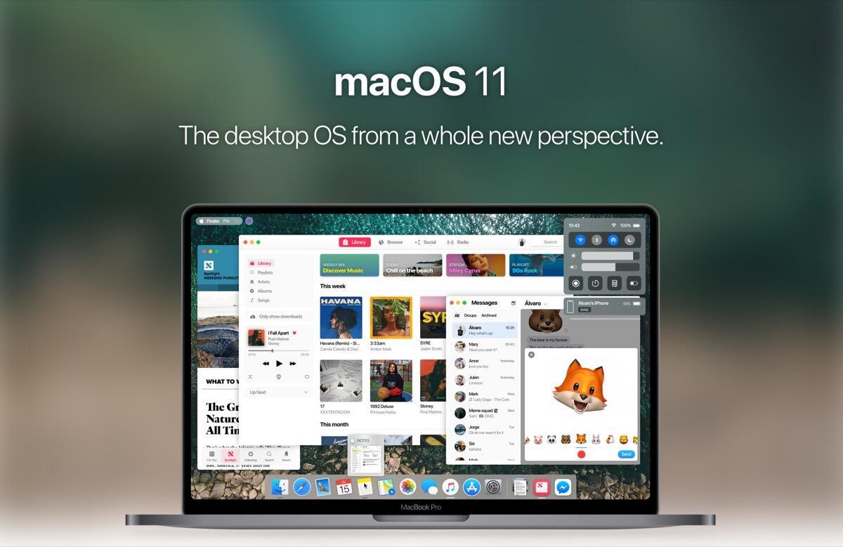 Apple Macos 11 Konzept Header