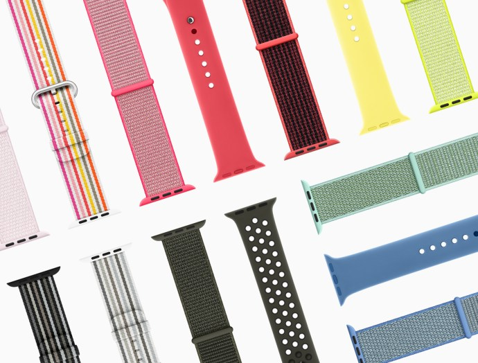 Apple Watch Bands Spring 2018 Header