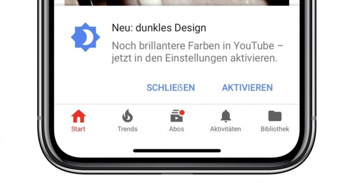 Dark Mode Youtube