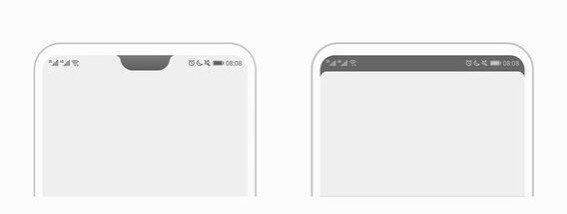 Hide Notch Huawei P20