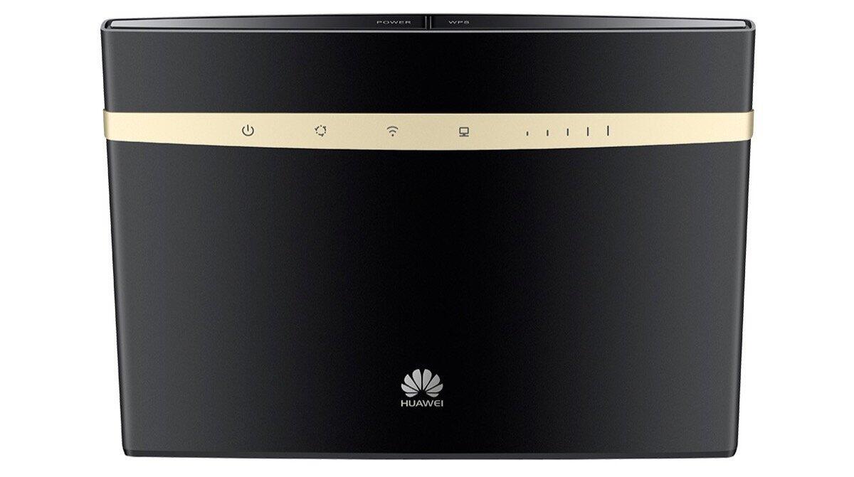Huawei B525 Schwarz Gold