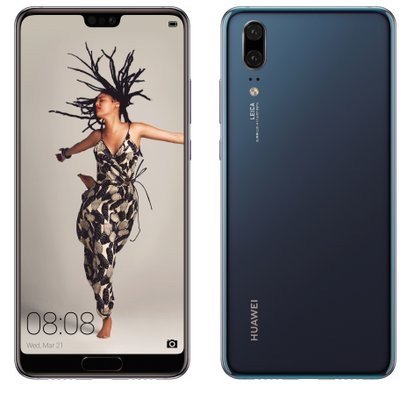 Huawei P20 Blau