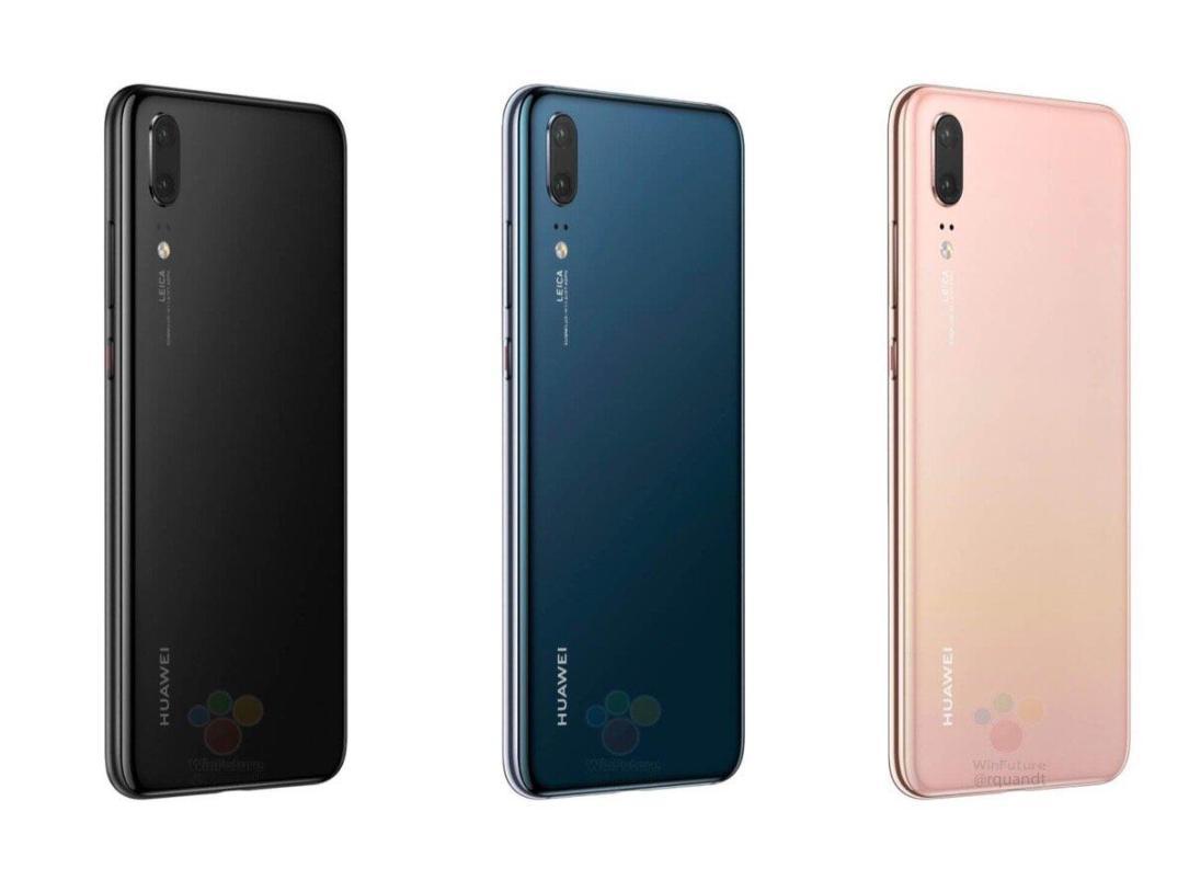 Huawei P20 Leak Farben